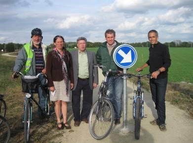 La voie lente entre Dion et Louvain-la-Neuve: enfin le bout du tunnel!